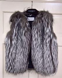 8 - YSL Fur Vest  Size 36   Never Worn