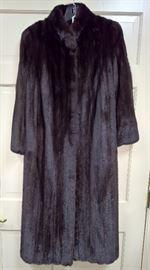 West 1 - Mink  Full Legnth Coat