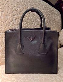 JD  - Prada Dark Green Handbag