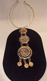GA - Modernist Handwrought Necklace