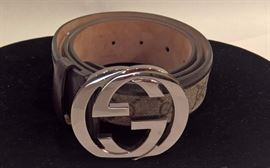 CL 31 - Gucci  Orginal GG Belt with Interlocking G  Size 34