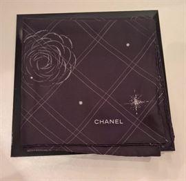 "Fairlawn 70 - Chanel Constellation Silk Scarf  34""square"