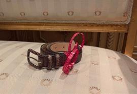 3V  - Calvin Klein Belt  Large
