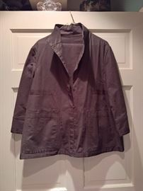 3V  - Lafayette   (2 pcs) Brown Blazer and Pants   Size 8