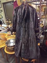 3V  - Albert Furs  - Mink Full Legnth Coat