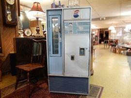 Working VF-56 D Vendolator Pepsi dispenser. Fair to good condition.