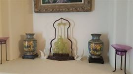 Authentic antique carved jade