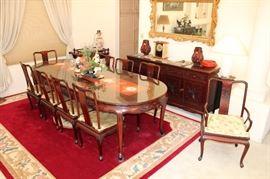 Beautiful rosewood dining set