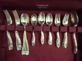 Beautiful Gorham Sterling Flatware Set, service for 8