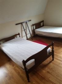 twin bed frames. I have mattresses for them