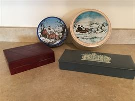 Group of 4 Misc. Boxes & Tins  http://www.ctonlineauctions.com/detail.asp?id=656931