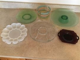 Misc. Serving Platters/Plates and Bowl  http://www.ctonlineauctions.com/detail.asp?id=656935