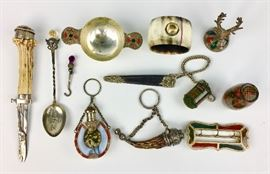 Antique Scottish Silver & Agate & other Objects