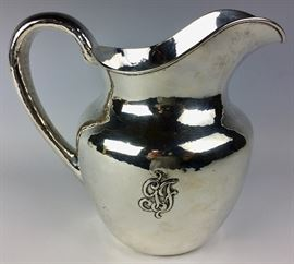 RARE Clemons Friedell A & C  Sterling Silver pitcher