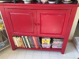 Fantastic red cabinet