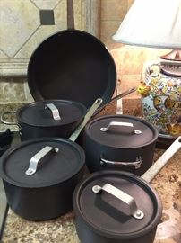 Professional grade cookware--very very lightly used