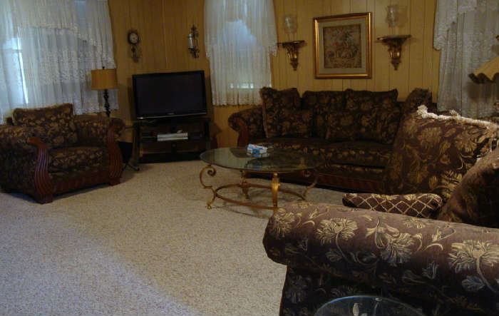 Matching Sofa, Love Seat and ArmChair