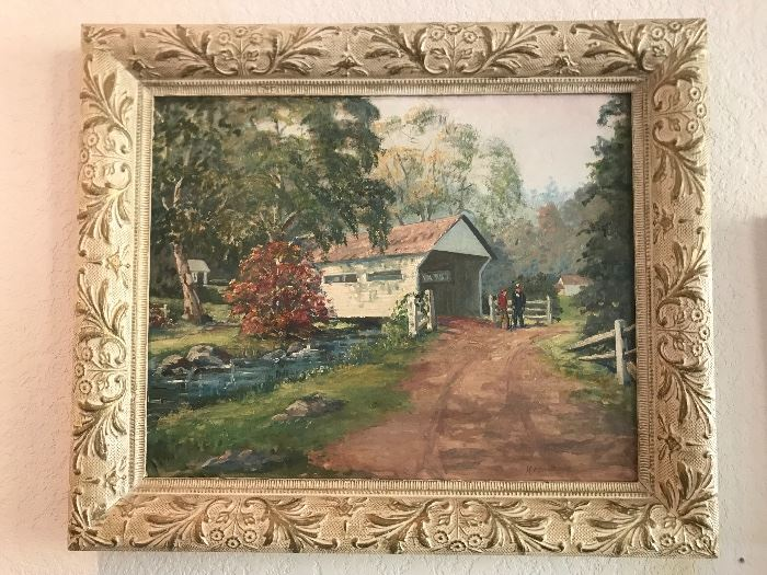 Myrtle Waldspurger original oil