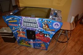 Arcade Legends Cocktail Arcade Game                                  For sale $2850.00