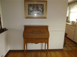 Sarmiento Writing Desk  http://www.ctonlineauctions.com/detail.asp?id=652354