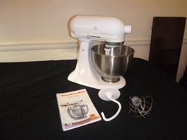 KitchenAid Ultra Stand Mixer  http://www.ctonlineauctions.com/detail.asp?id=652363