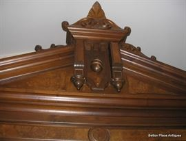 Finial Section from Armoire