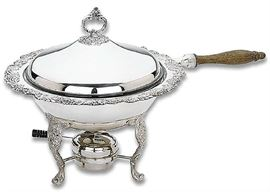 Reed & Barton Burgundy Chafing Dish 2 Quart - brand new in original factory box