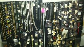 Jewelry of all types, vintage to current, gold, gold filled, sterling silver, costume, Swarovski, ladies and men's.