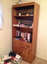 BOOKCASED OF SOLID WOOD$10.00! EVERYTHING ELSE   IN THE HOUSE $1.00 EACH, EXCEPT SOME FURNITURE PRICED $5.00 TO $10.00! PLASTIC TABLES AND SHELFS NOT FOR SALE!
