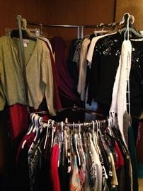 ALL CLOTHING $1.00 PER BAG! BAG MUST BE ABLE TO BE TIED! CLOTHING RACKS NOT FOR SALE!  EVERYTHING ELSE   IN THE HOUSE $1.00 EACH, EXCEPT SOME FURNITURE PRICED $5.00 TO $10.00! PLASTIC TABLES AND SHELFS NOT FOR SALE!