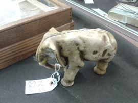 Antique Cast Iron Elephant Door Stop