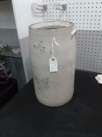 Antique  4 gallon Western Stoneware