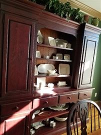 Another view of this great breakfront/china cabinet