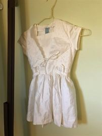 Vintage litle girls dress