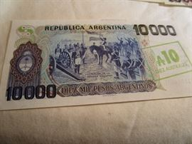 Collectible Pesos