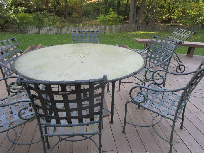 Brown Jordan Patio Set