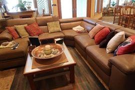 Neck area on couch raises
