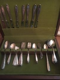 "Alvin Sterling ""Southern Charm"" Flatware"