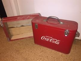 Nice Old Coca Cola Airlines Cooler