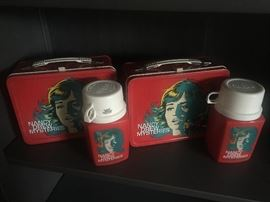 Vintage Nancy Drew Lunchboxes and Thermoses