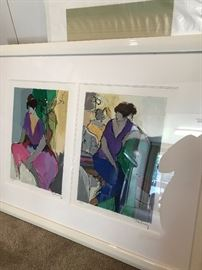 ISHTAK TARKAY LITHOGRAPH SIGNED AND NUMBERED