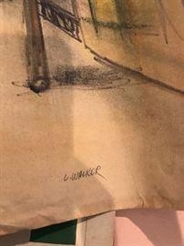 ORIGINAL ART BY L.WALKER