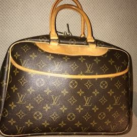 LOUIS VUITTON DEAUVILLE SMALL TRAVEL LUGGAGE