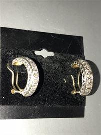 DIAMOND STERLING SILVER JEWELRY
