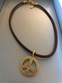 COACH PEACE NECKLACE