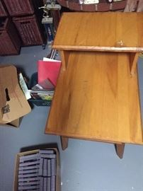 Nautical End table part of set with futon, rocker, coffee tables, chair