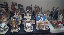 More Village pieces