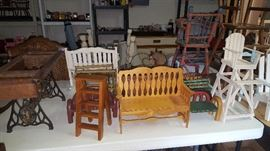 Doll Furniture of all kinds
