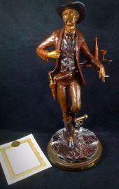 Elie Hazak Bronze Wyatt Earp