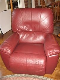 Leather La-Z-Boy Recliner...